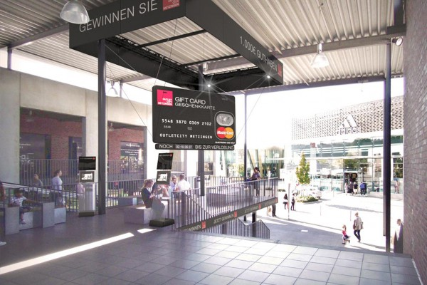 Outlet Center Metzingen, 3D, Visualisierung