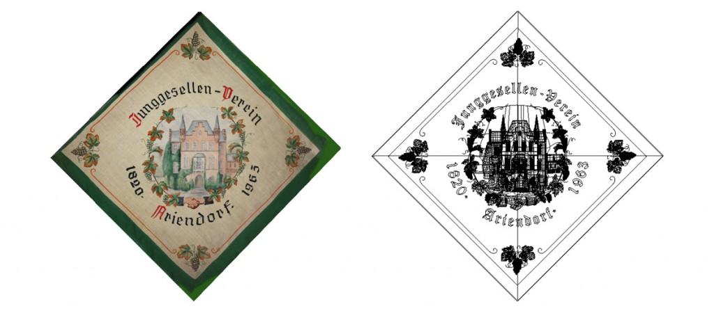 Junggesellenverein Ariendorf Vereinsflagge