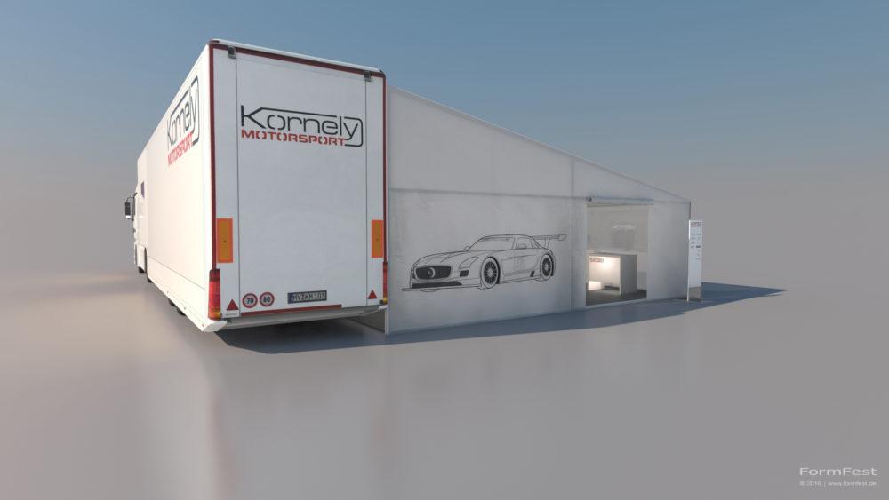 Visualisierung Eventplanung Kornely Motorsport 2015