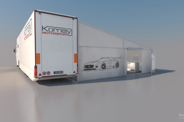 Visualisierung Eventplanung Kornely Motorsport 2015
