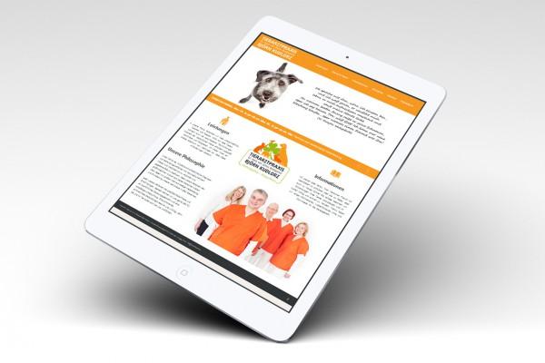 Internetseite Website Tierarztpraxis Björn Kudlorz