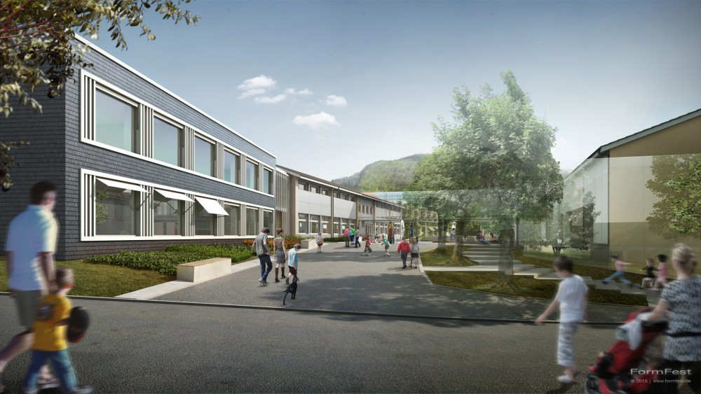 Jeker Architekten Schule Buesserach