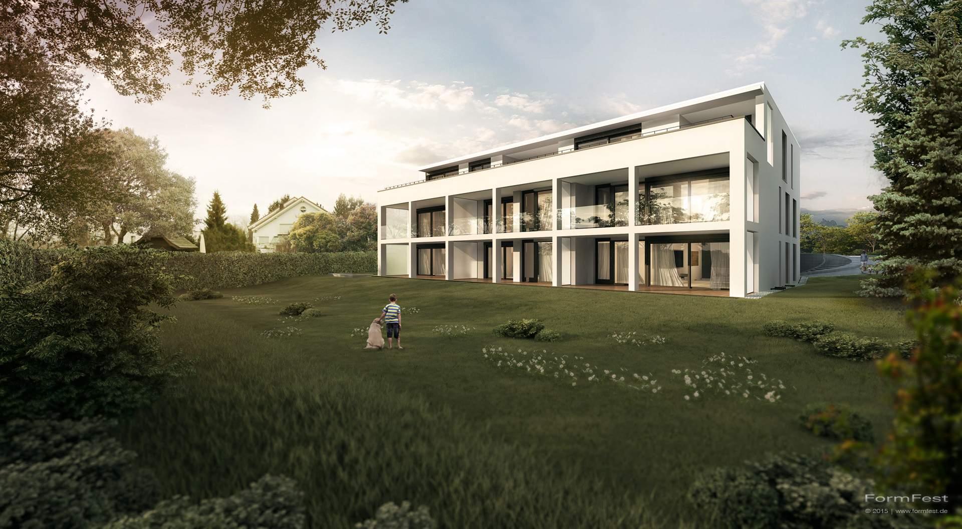 Mehrfamilienhaus | Eckenstein/Dornbach - FormFest