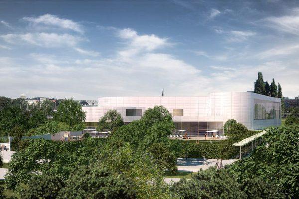 Freizeitbad Kiel, Visualisierung aussen, 3D