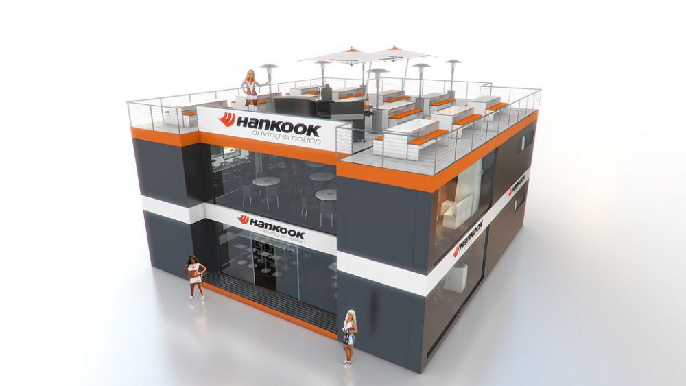 Event und Messeauftritt Hankook, Visualisierung, 3D, Pitch