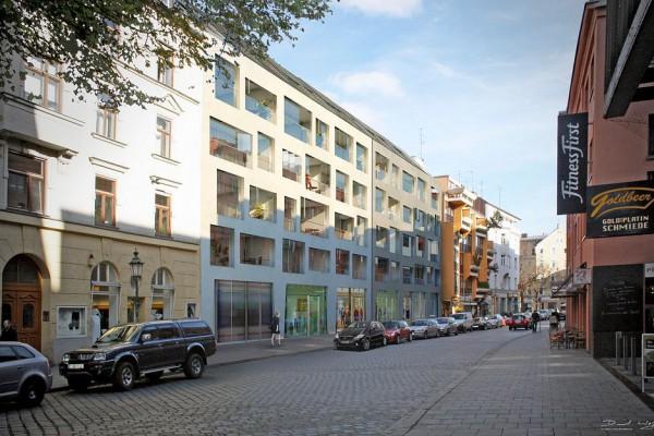 Feilitzschstrasse München, Film, Visualisierung