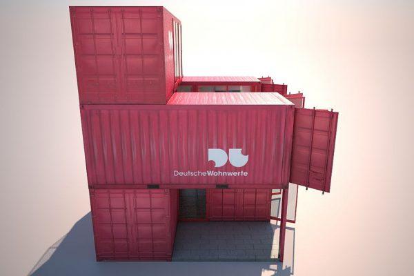 Containergebäude, Deutsche Wohnwerte