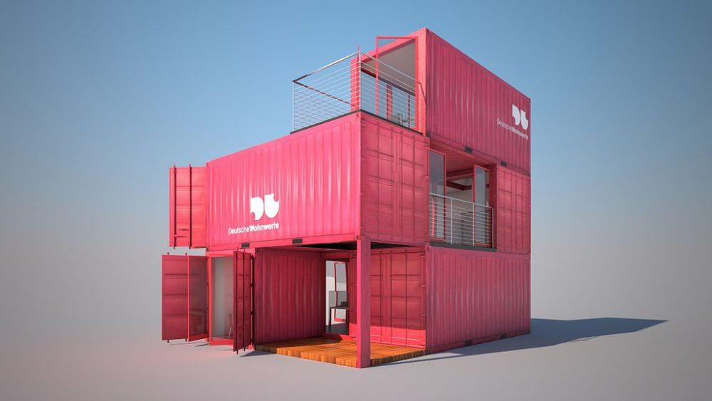Containergebaeude, Deutsche Wohnwerte