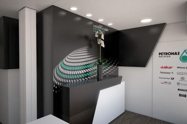 Mercedes GP Petronas Counter, Visualisierung