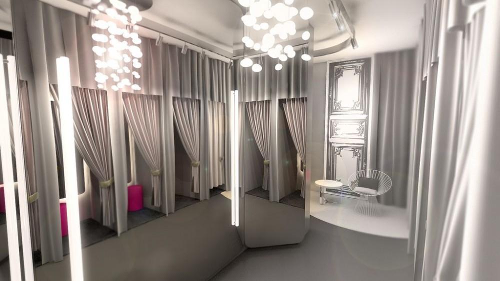 Orsay, Shopkonzept, Visualisierung
