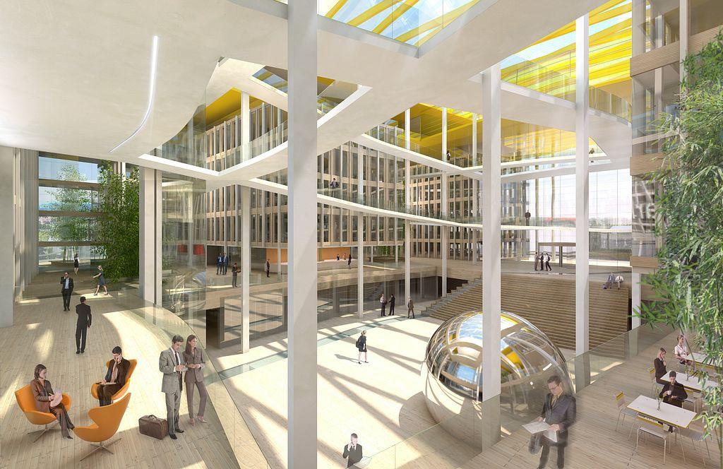 Wettbewerb Ernst & Young, Stuttgart, Visualisierung, 3D