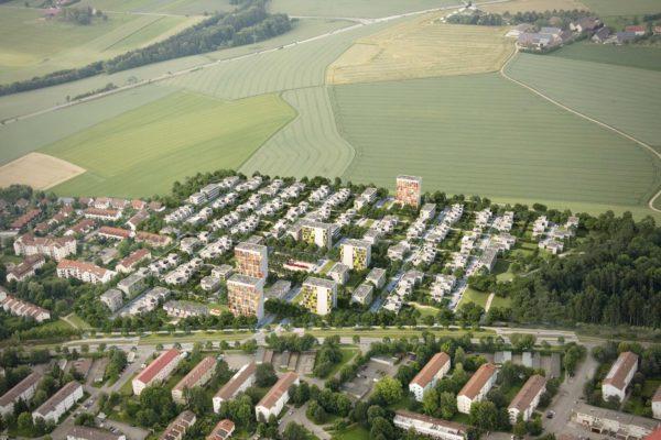 3D Visualisierung Stadtpanung Ulm Lettenwald