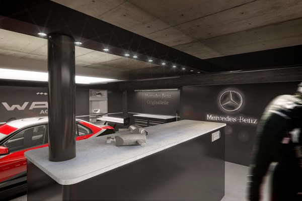 DTM Box Mercedes Benz