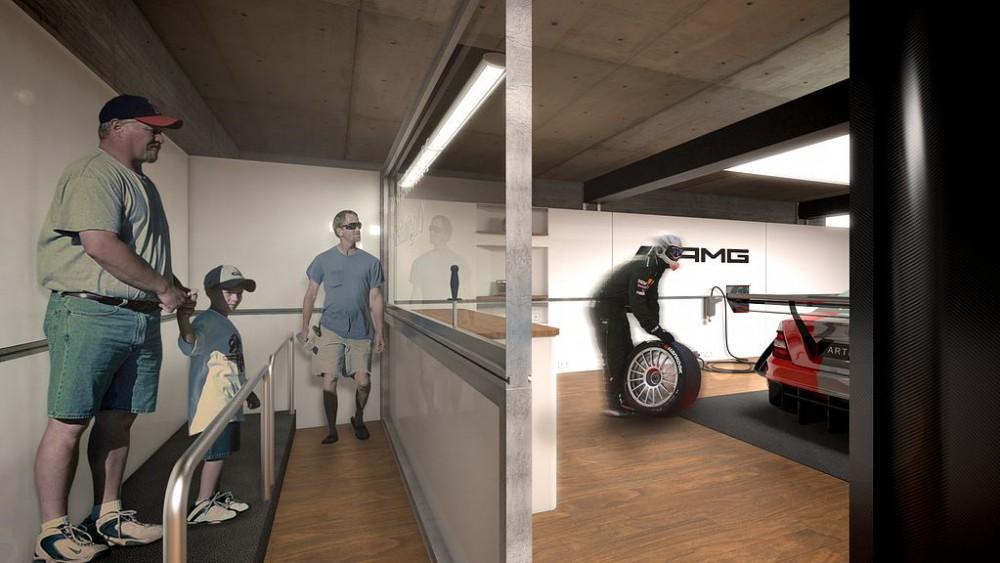 DTM Box Mercedes Benz