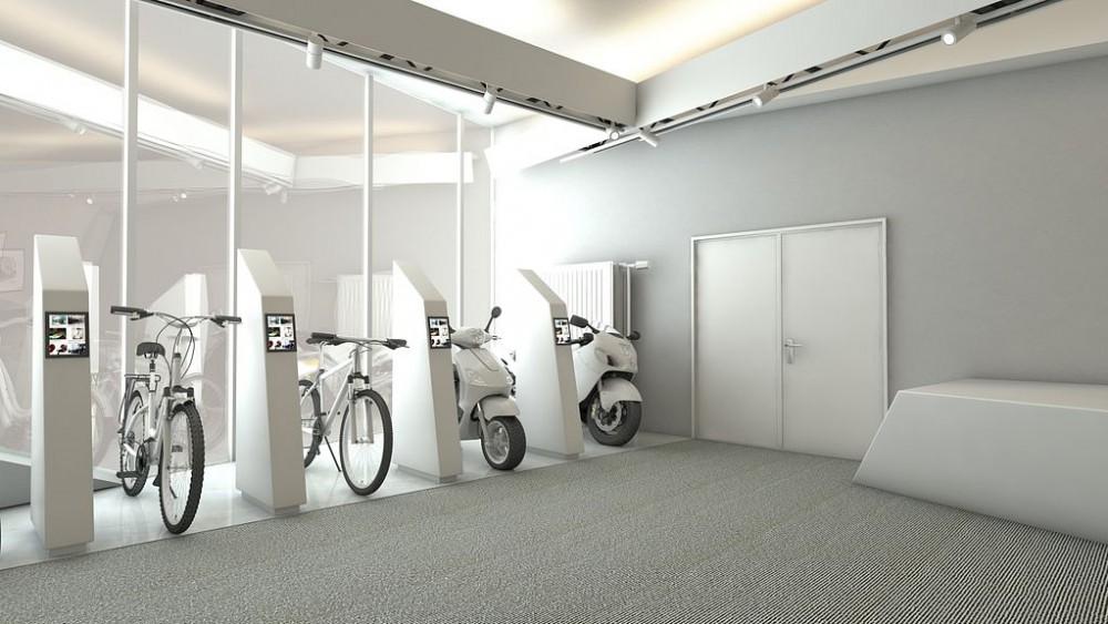Fraunhofer Institut, Innenraum 3D Visualisierung