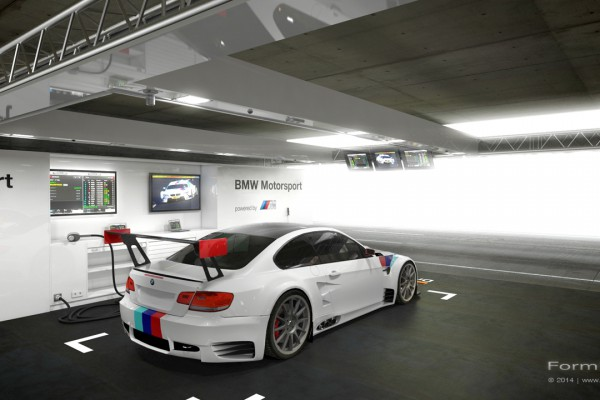 DTM Box BMW, Visualisierung, Design, Event