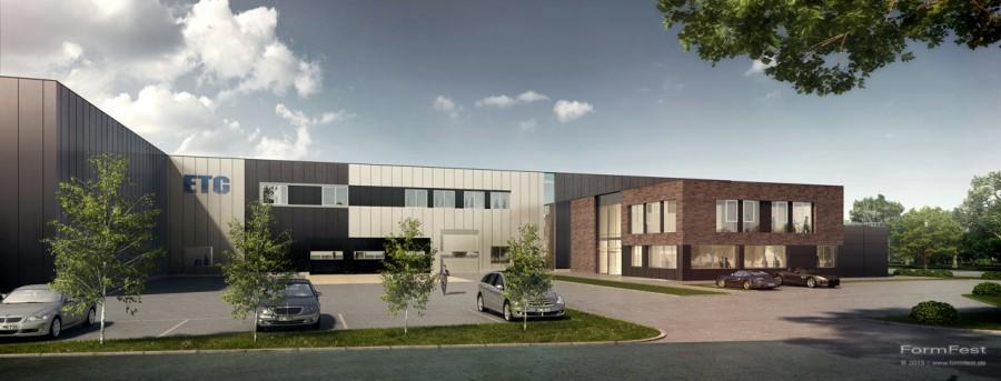 Goldbeck West GmbH, Büro- und Industriegebäude