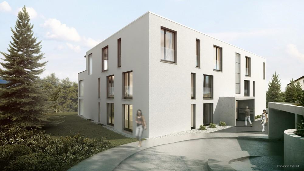 Mehrfamilienhaus Eckenstein, Visualisierung