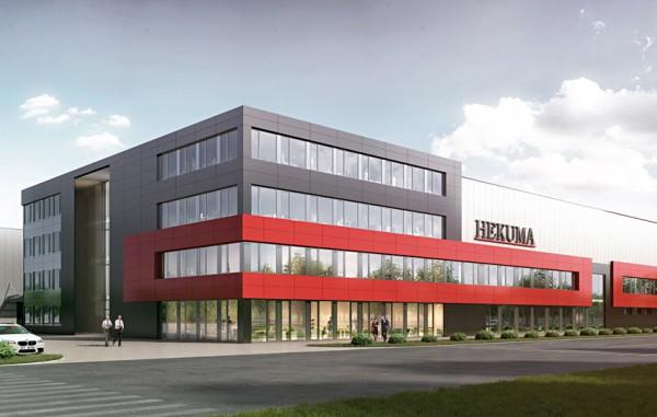 Goldbeck West GmbH, Industriegebäude