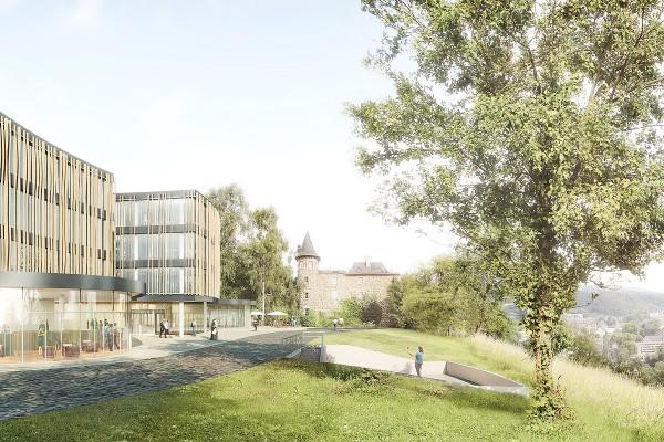 Birkenstock, Ockenfels, Architektur Wettbewerb, Visualisierung
