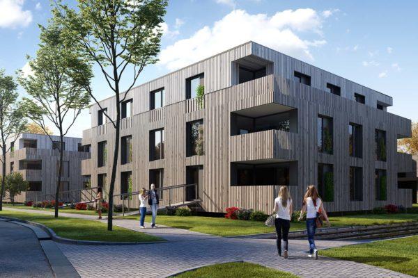 3D, Rendering, Wohnungsbau Neuenahr