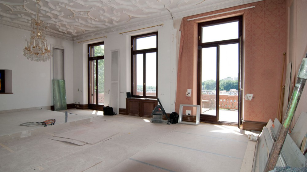 Villa Wiesbaden, Innenraum 3D VisualisierungVilla Wiesbaden, Innenraum 3D Visualisierung