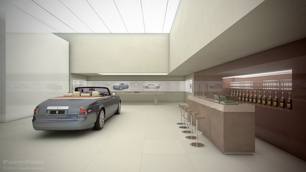 Rolls Royce Motor Cars, Messe, 3D Visualisierung