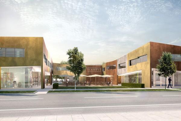 Städtebaulicher Wettbewerb, Bruckmühl, Visualisierung, 3D