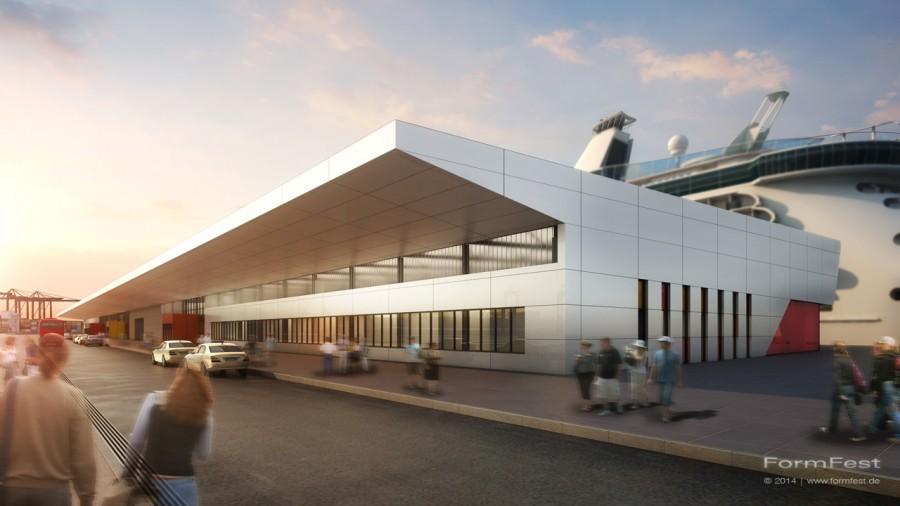 Goldbeck Hamburg Cruise Terminal