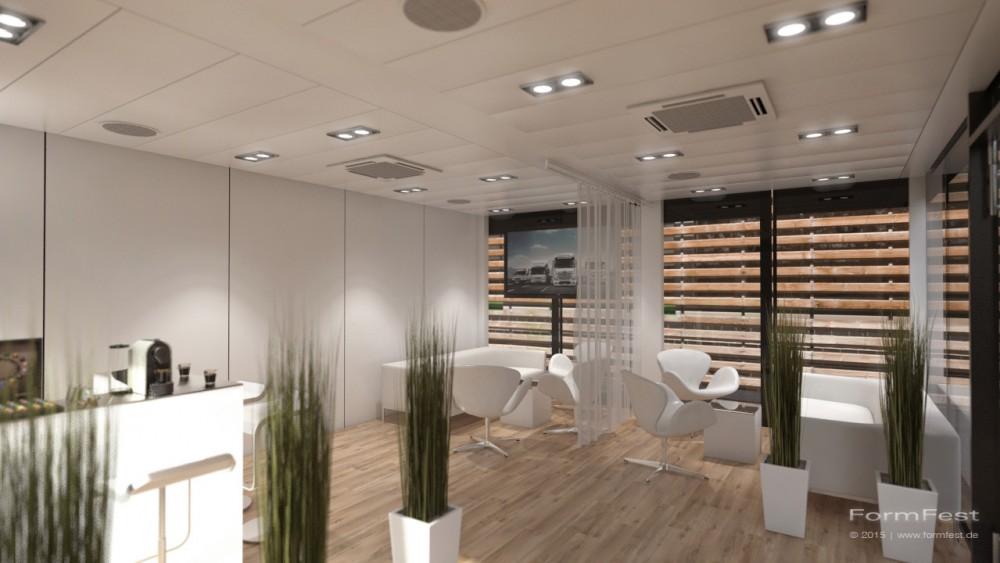 IAA, Mercedes-Benz: Charterway 2014, Jost FormFest 3D rendering visualisierung