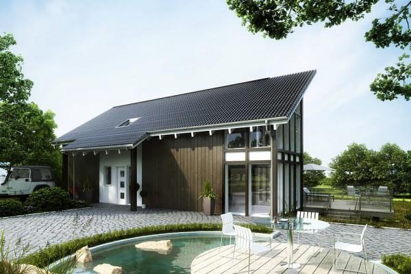 Klima-Häuser, Kern, 3D Visualisierung