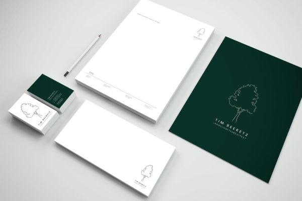 Gestaltung Corporate Design, Geschäftsausstattung