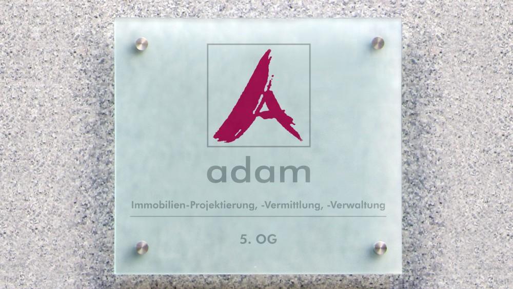 Schild Sabine Adam Immobilien