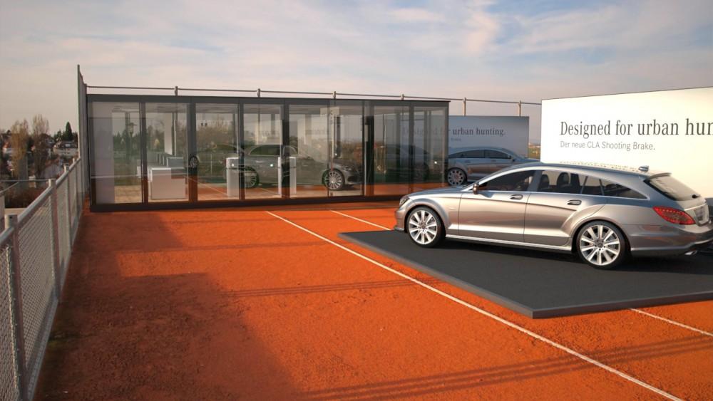 Visualisierung Mercedes-Benz Tennisplatz-Weissenhof