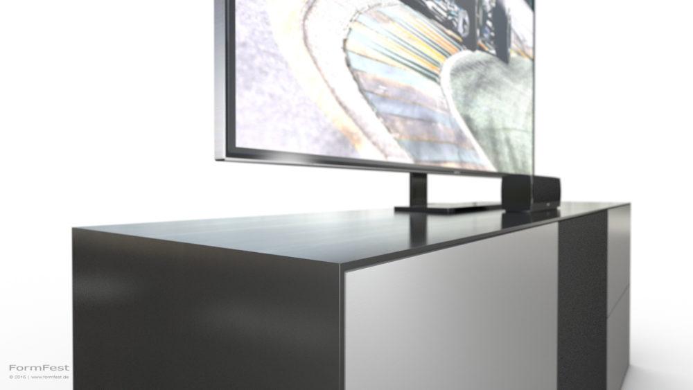 Design, Planung und Visualisierung: BOSE Sideboard