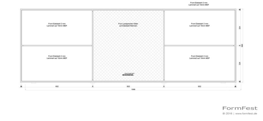 FormFest Sideboard Reck
