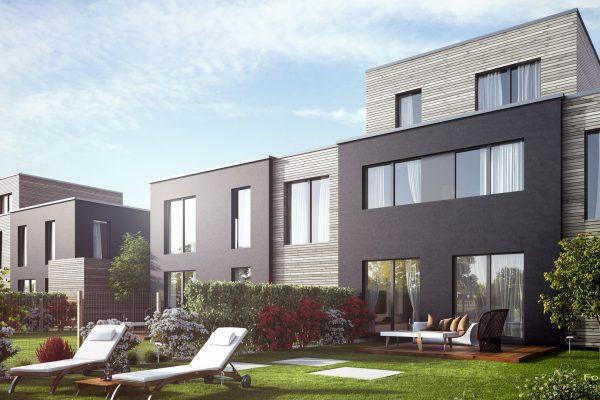 Visualisierung von Reihenhäusern / Kettenhäusern in Pulheim