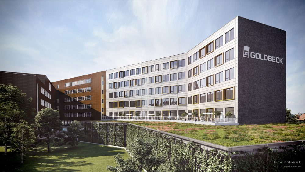Visualisierung Goldbeck Hamburg