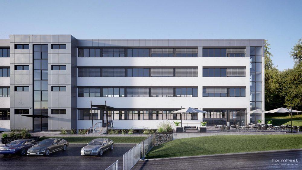 Visualisierung Fassade Dittrich Kleemann