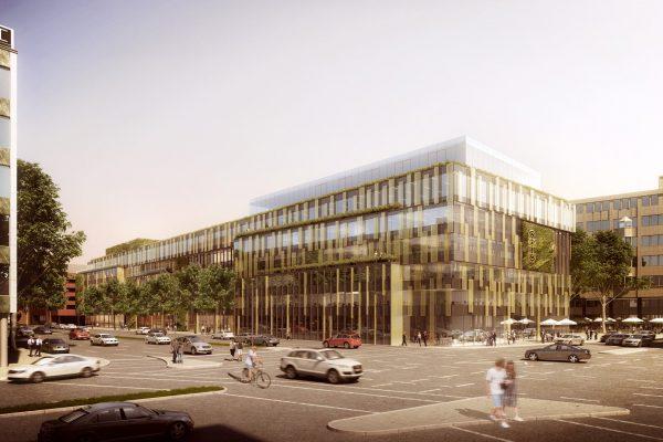 Architekturwettbewerb Tennigkeit Architekten Stuttgart - Calwer Passage 2017