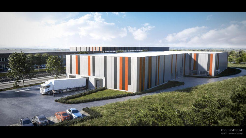 Visualisierung Goldbeck Halle 7
