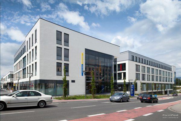 Visualisierung der Aufstockung der neuen Mitte in Ingelheim