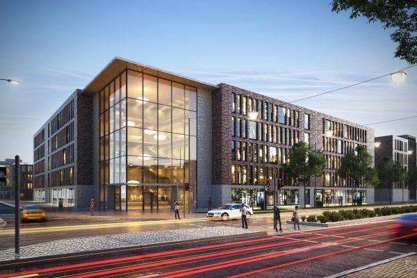 Visualisierung; 3D; Rendering; Goldbeck; Bürogebäude; Stresemannstraße