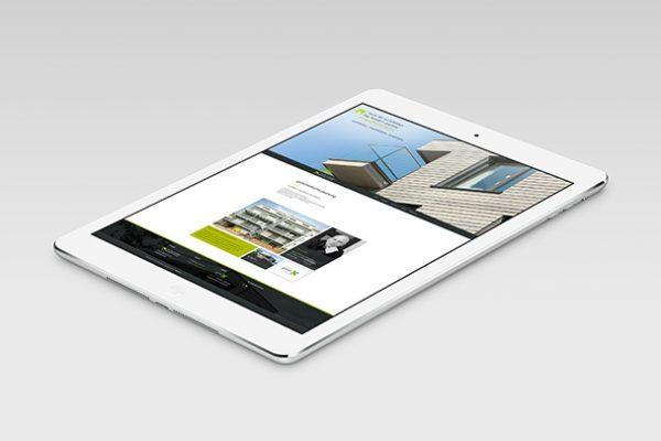 Internetseite Raum für Architektur