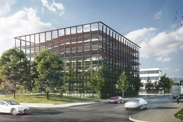 Visualisierung Goldbeck Parkhaus Kiel