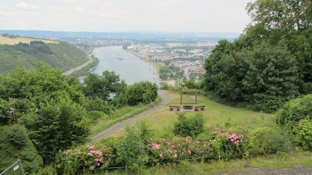 Andernach, Krahnenberg, Ausblick