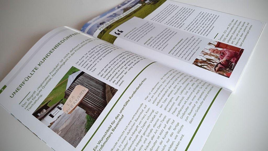"""24-seitige Broschüre """"Finkenberg Agrar"""""""