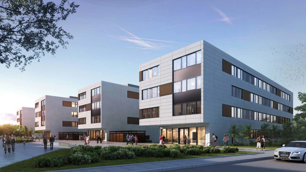 3D Visualisierung Goldbeck, Campus-Ahrensburg