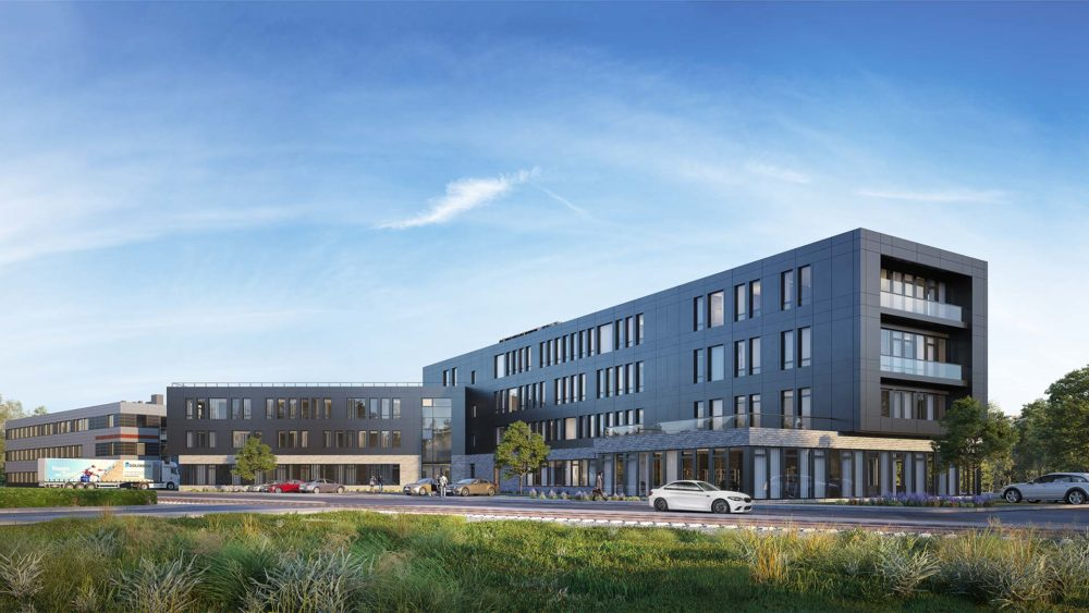 Goldbeck, Bürogebäude, Bremen, 3D Visualisierung
