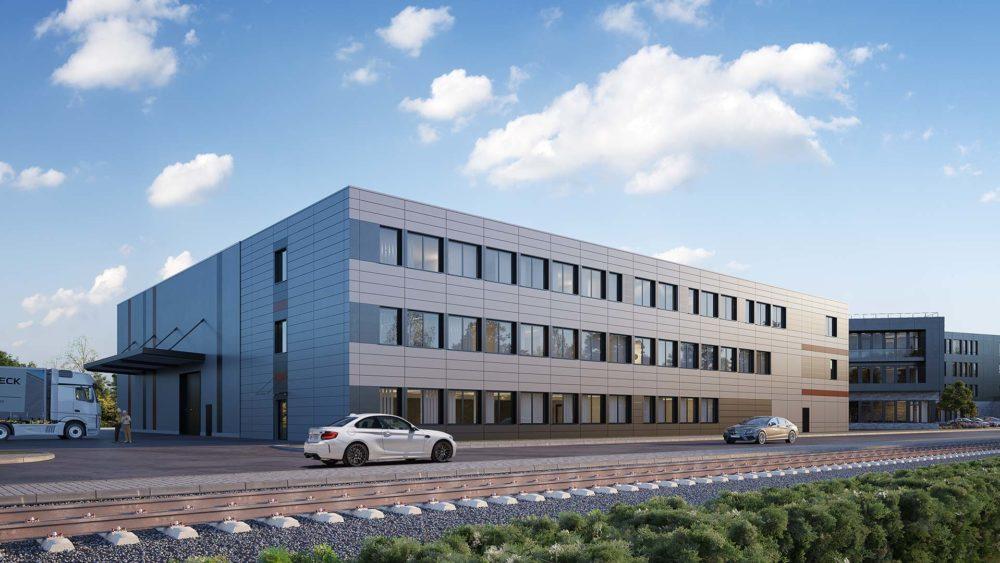 3D Visualisierung, Goldbeck, Bürogebäude, Bremen